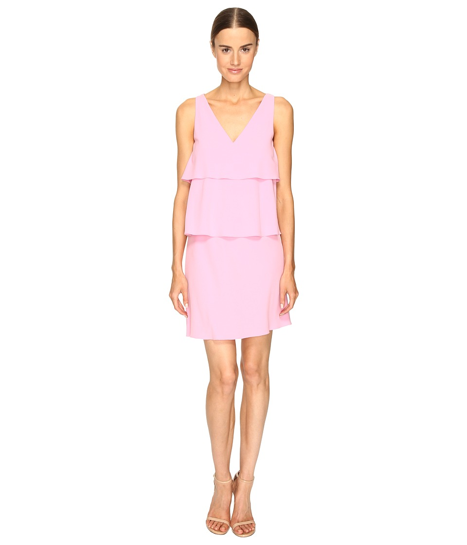 Boutique Moschino - Tiered Ruffle Dress (Pink 1) Women's Dress