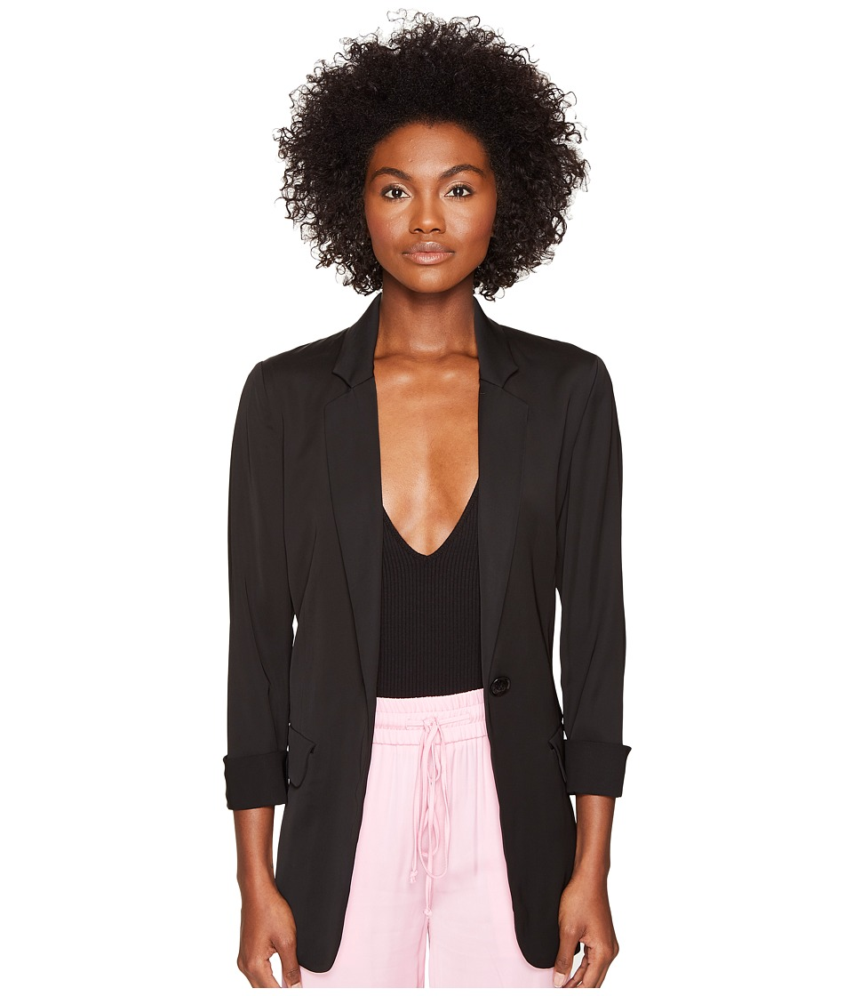 Boutique Moschino - Blazer (Black) Women's Jacket