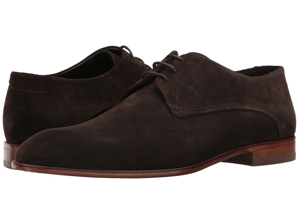 BOSS Hugo Boss - Dress Appeal Lace-Up Derby by HUGO (Dark Brown) Men's Shoes