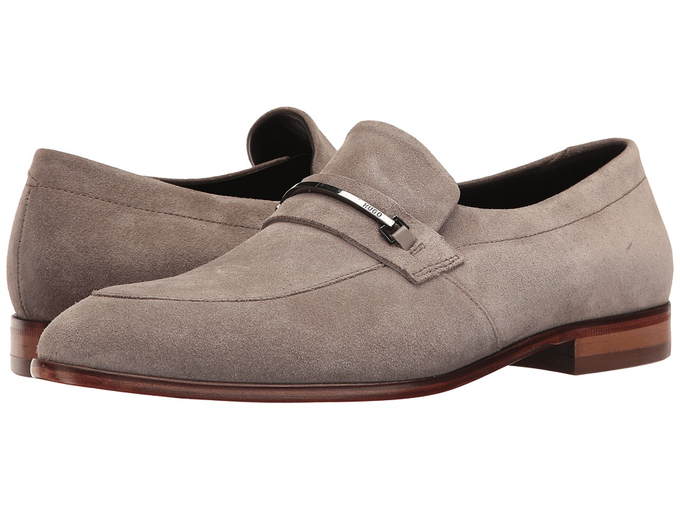 BOSS Hugo Boss - Dress Appeal Loafer by HUGO (Medium Grey) Men's Shoes