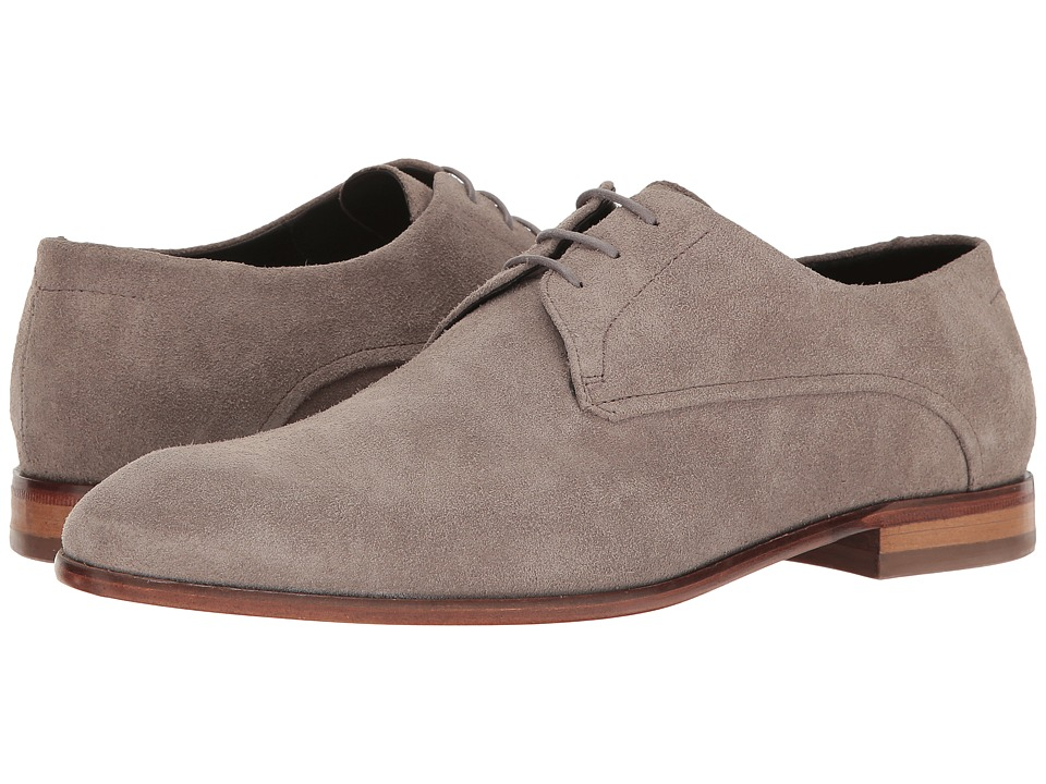 BOSS Hugo Boss - Dress Appeal Lace-Up Derby by HUGO (Medium Grey) Men's Shoes