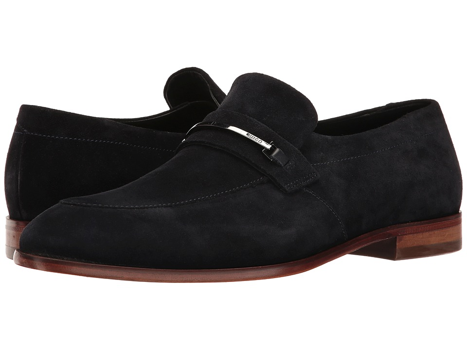 BOSS Hugo Boss - Dress Appeal Loafer by HUGO (Dark Blue) Men's Shoes