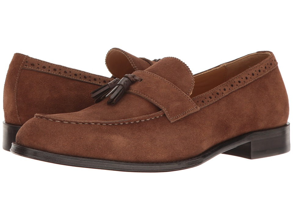 ALDO - Grisello (Brown Suede) Men's Slip on Shoes
