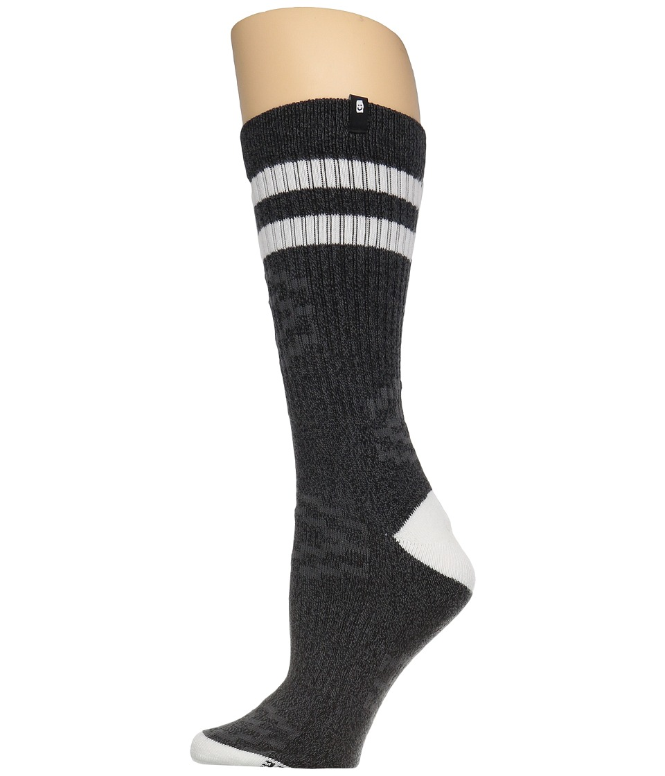 Sanuk - Get Tubed Wigwam Athletic Tube Sock (Charcoal) Men's Crew Cut Socks Shoes