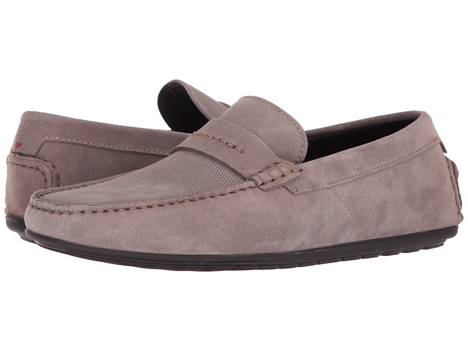 BOSS Hugo Boss Dandy Moccasin By Hugo (Medium Grey) Men