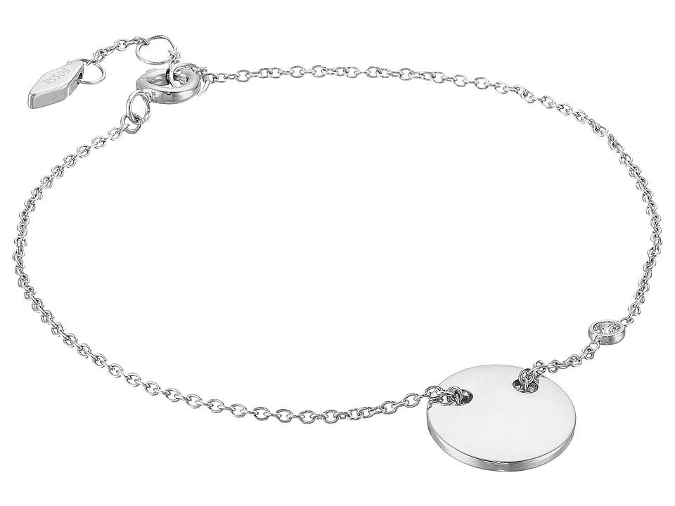 Fossil - Engravable Bracelet (Silver 1) Bracelet