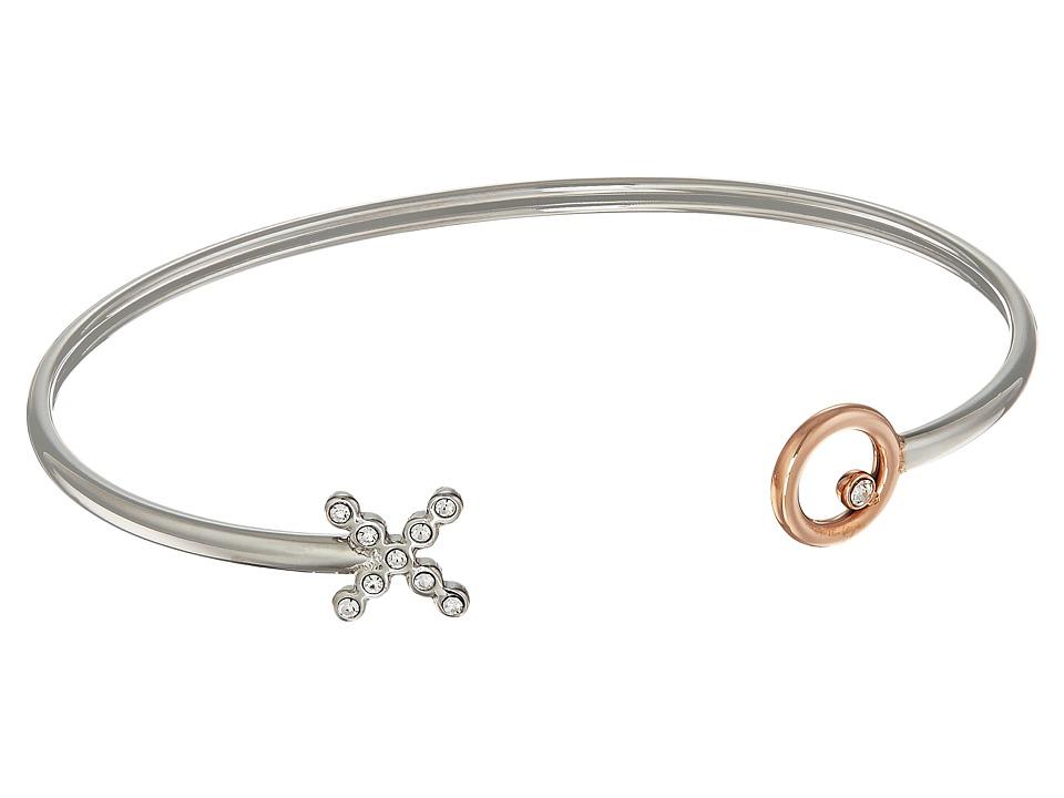 Fossil - X and O Bracelet (Silver) Bracelet