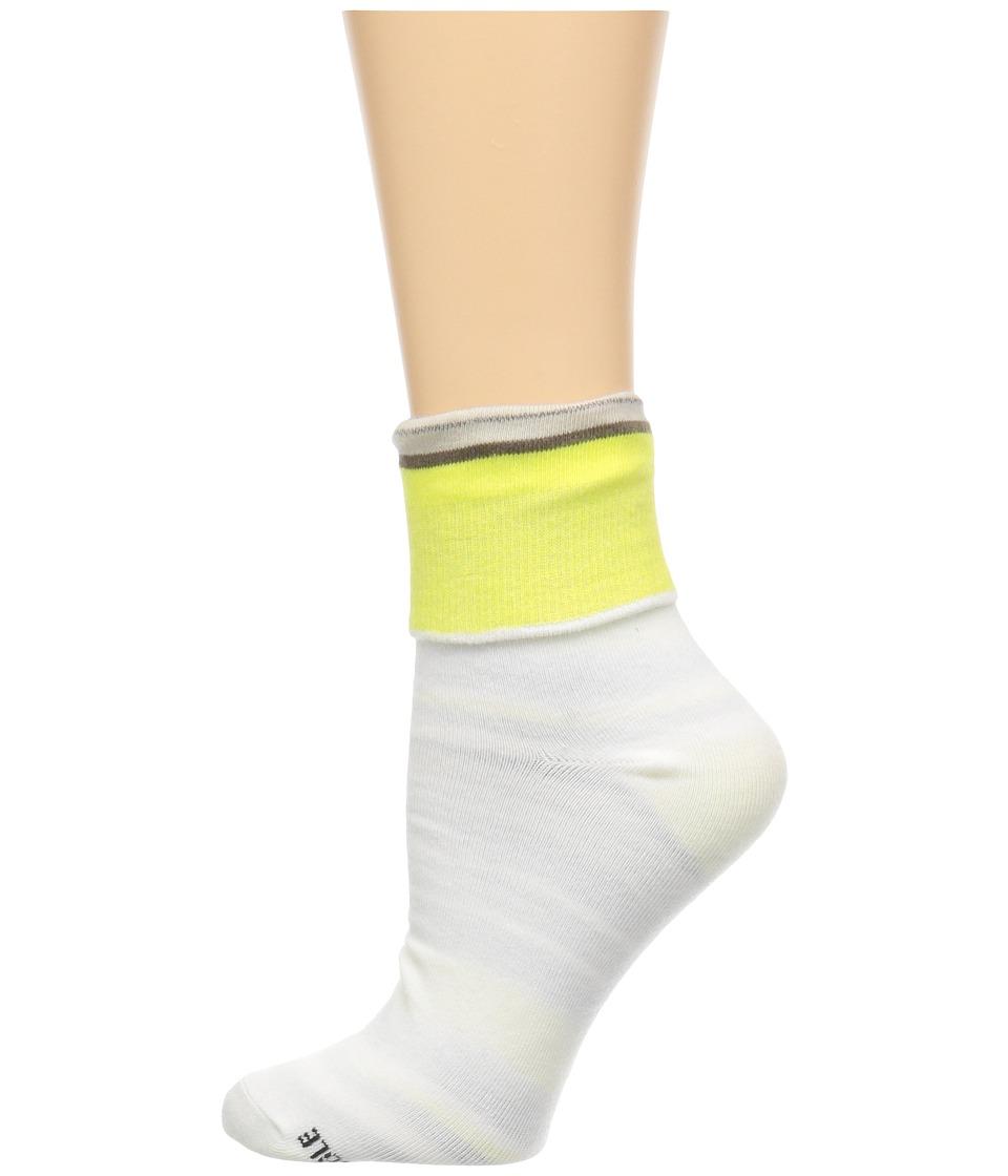 Sanuk - Sock Lock and Drop Reversable Crew Sock (Natural) Men's Crew Cut Socks Shoes