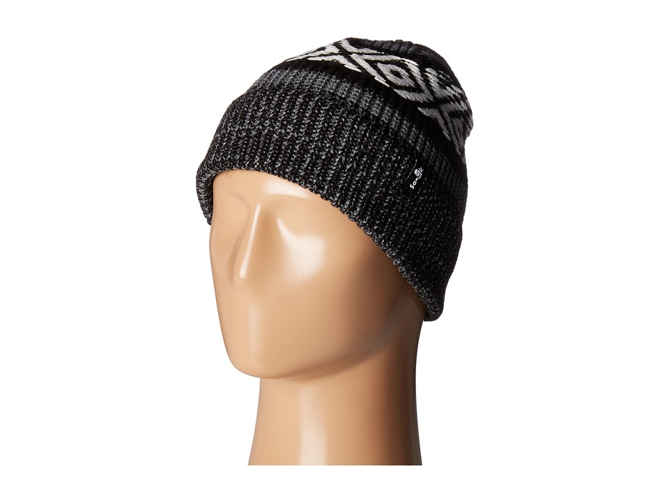 Sanuk - The Up-High Boarder Beanie (Black Heather) Beanies