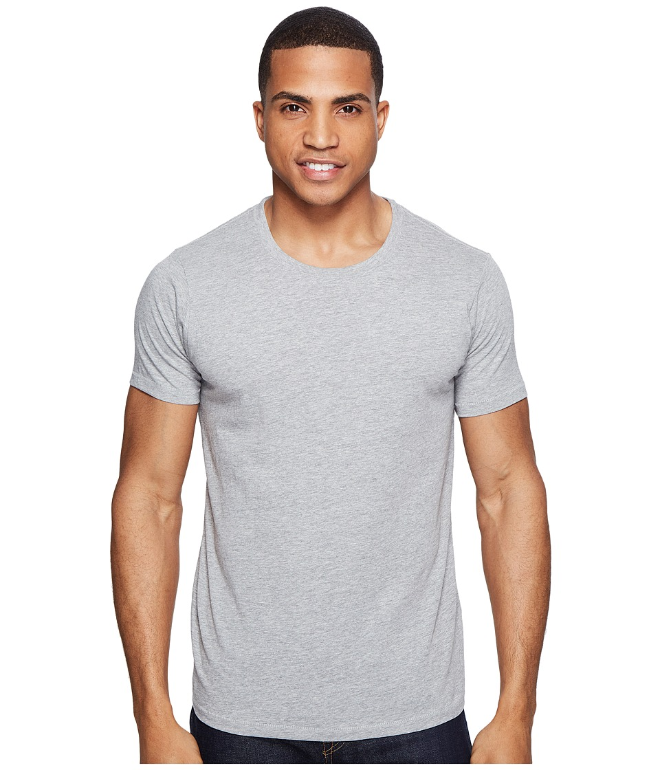 Sanuk - U - Crew Basic Tee (Heather Grey) Men's T Shirt