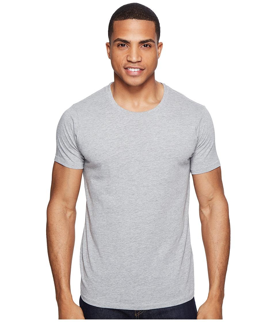 Sanuk - U - Crew Basic Tee (Heather Grey) Men's T Shirt