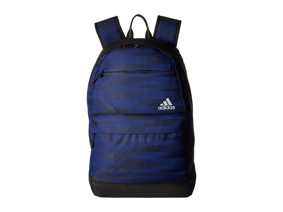 adidas Daybreak Backpack (Ratio Jacquard Mystery Ink/Black/Grey Two) Backpack Bags