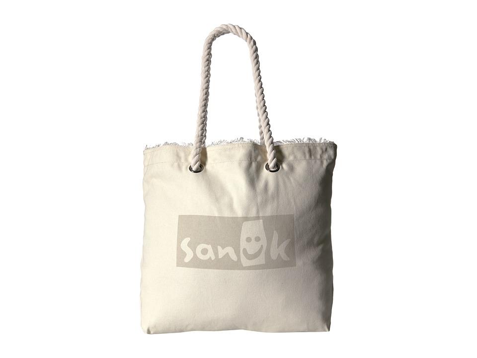 Sanuk - Isla Tote Rope Tote (Natural) Tote Handbags