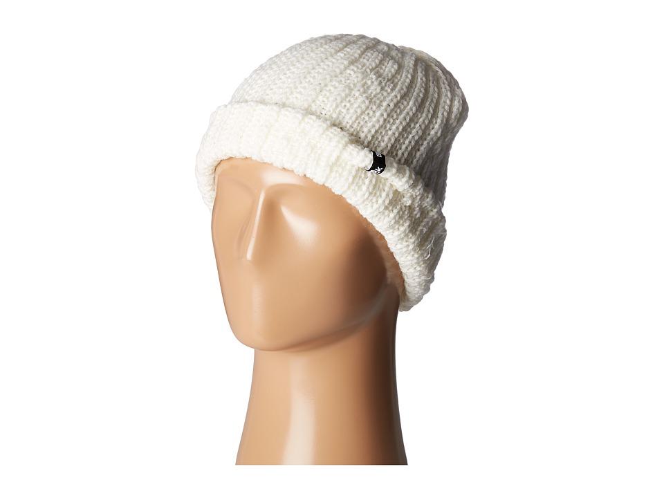 Sanuk - Iglu Chunky Cable Knit Beanie (Marshmallow) Beanies