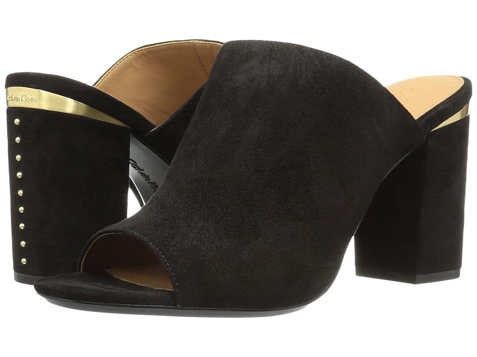 Calvin Klein - Cicelle (Black Suede) Women's Shoes