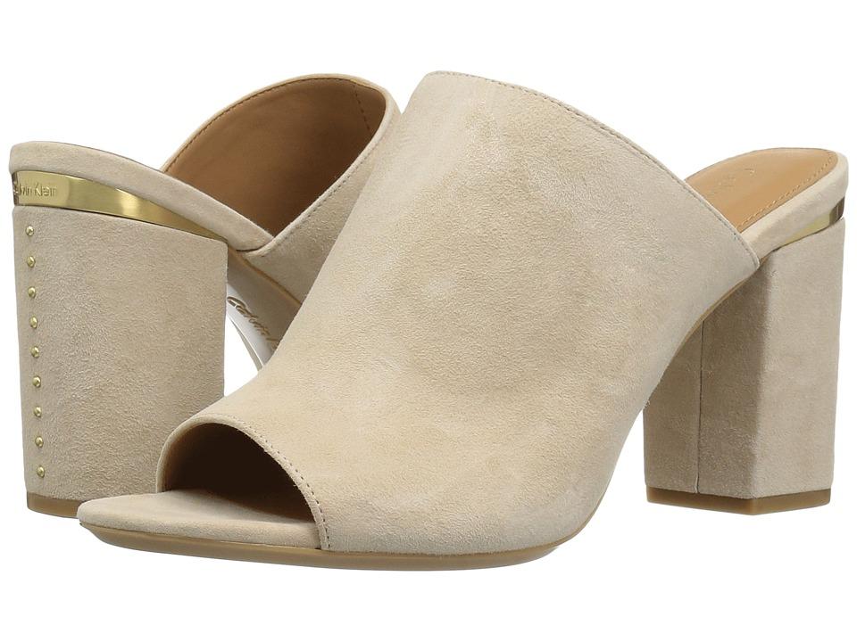 Calvin Klein - Cicelle (Sand Suede) Women's Shoes
