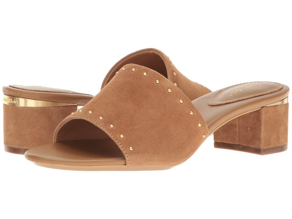 Calvin Klein - Dixie (New Caramel Suede) Women's Dress Boots