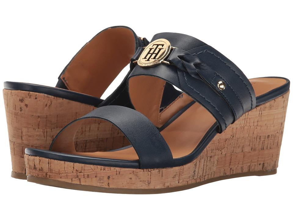 Tommy Hilfiger - Geeya (Navy) Women's Shoes