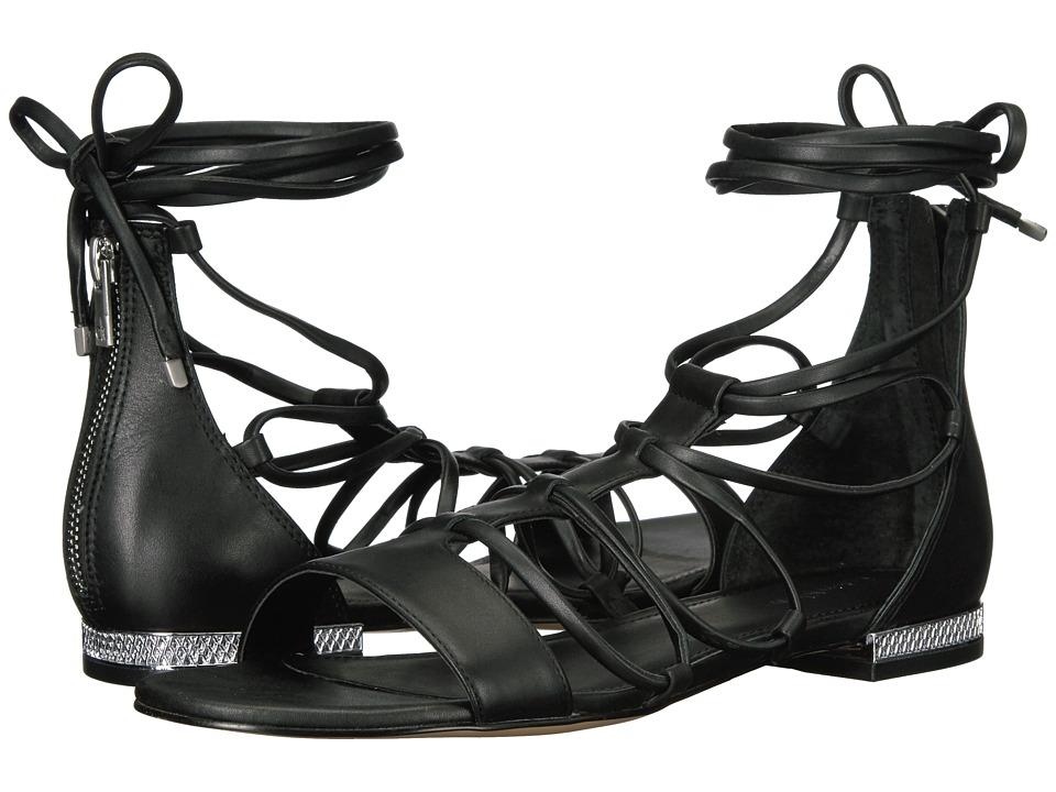 Calvin Klein Elina (Black Leather) Women