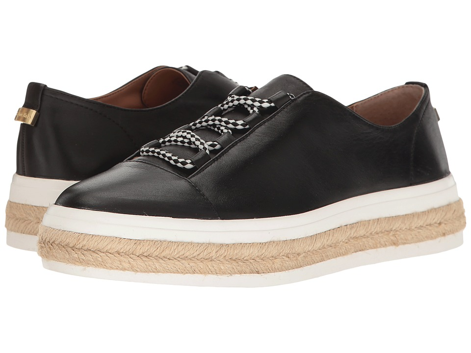 Calvin Klein - Jupa (Black Leather) Women's Shoes