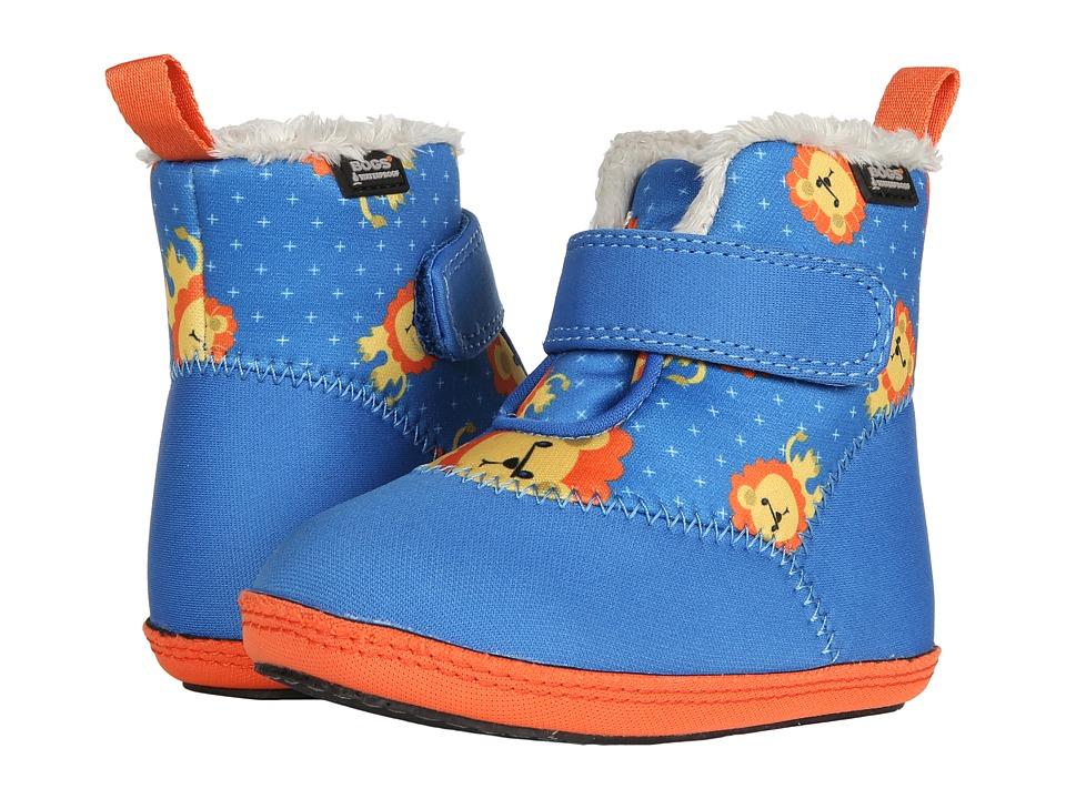 Bogs Kids Elliot Lion (Infant/Toddler) (Blue Multi) Boys Shoes