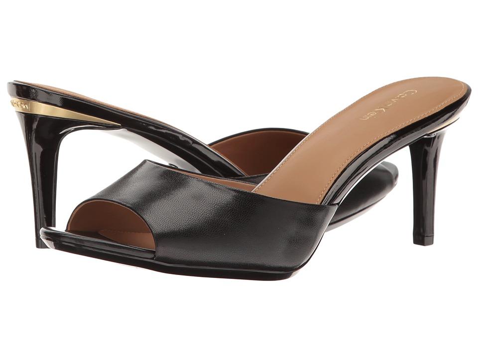 Calvin Klein - Luc (Black Leather) Women's Shoes