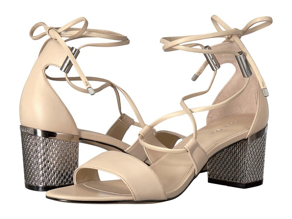 Calvin Klein - Natania (Sand Leather) Women's Shoes