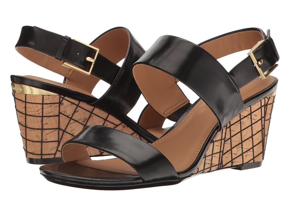 Calvin Klein - Peony (Black Cork) Women's Shoes