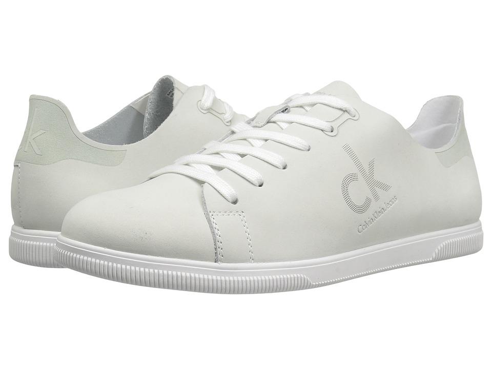 Calvin Klein - Sailor (White Nubuck) Women's Shoes