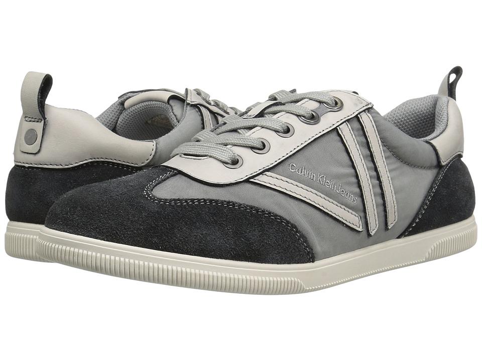 Calvin Klein - Sally (Grey Nylon/Suede) Women's Shoes