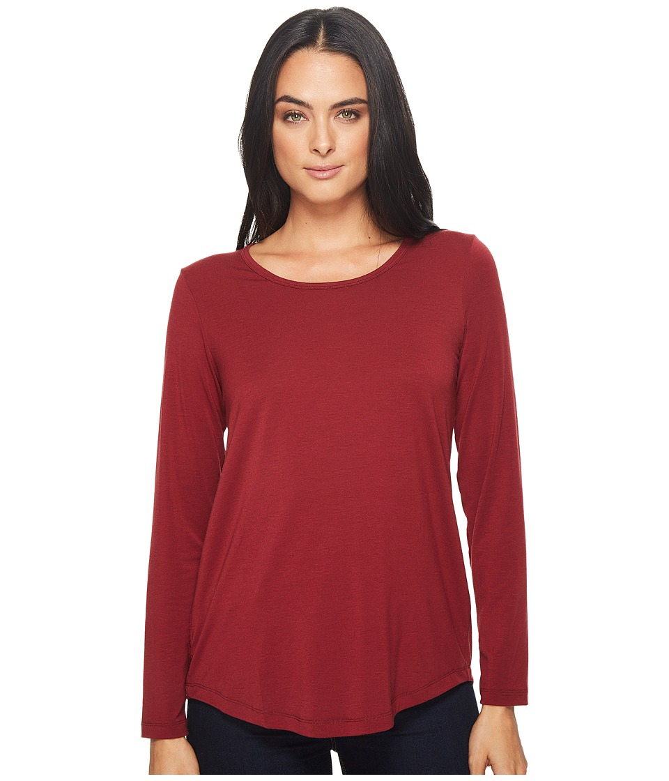 ExOfficio Wanderlux Scoop Neck (Malbec) Women