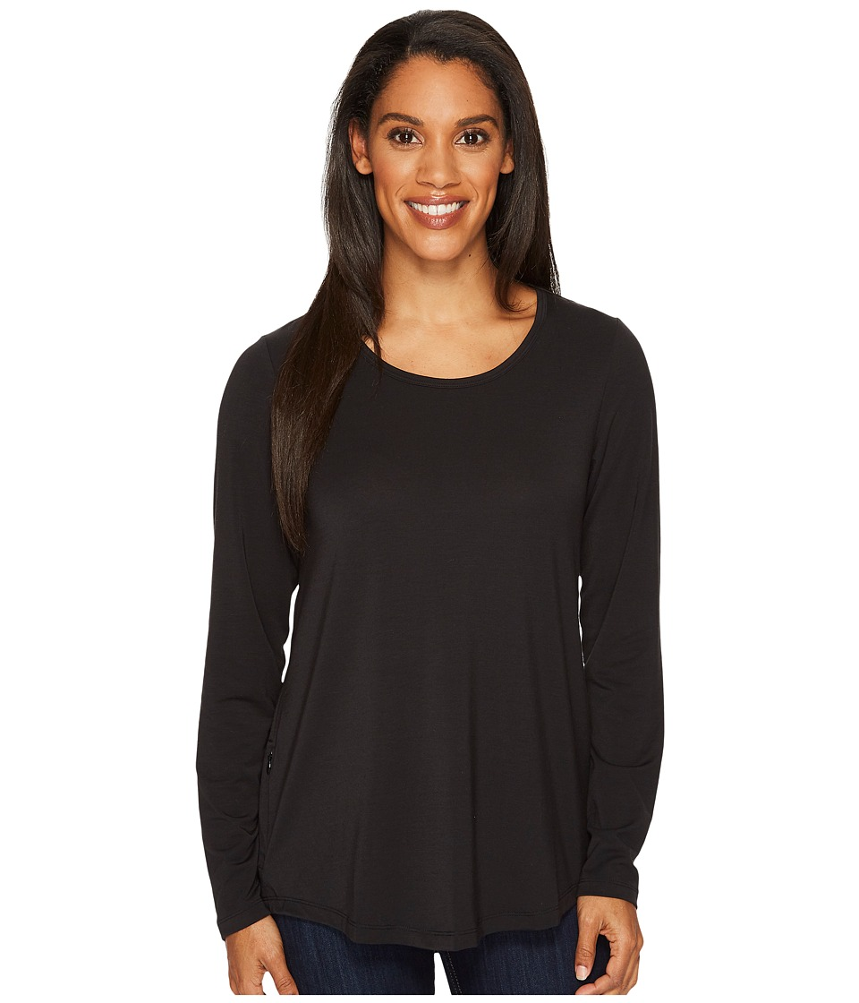 ExOfficio Wanderlux Scoop Neck (Black) Women