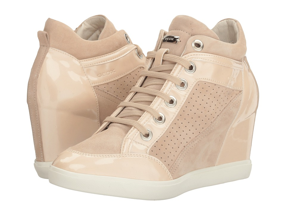 Geox - W ELENI 32 (Skin/Light Beige) Women's Lace up casual Shoes