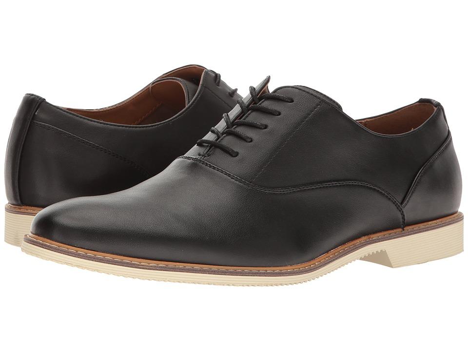 ALDO - Redfers (Black Leather) Men's Lace Up Wing Tip Shoes