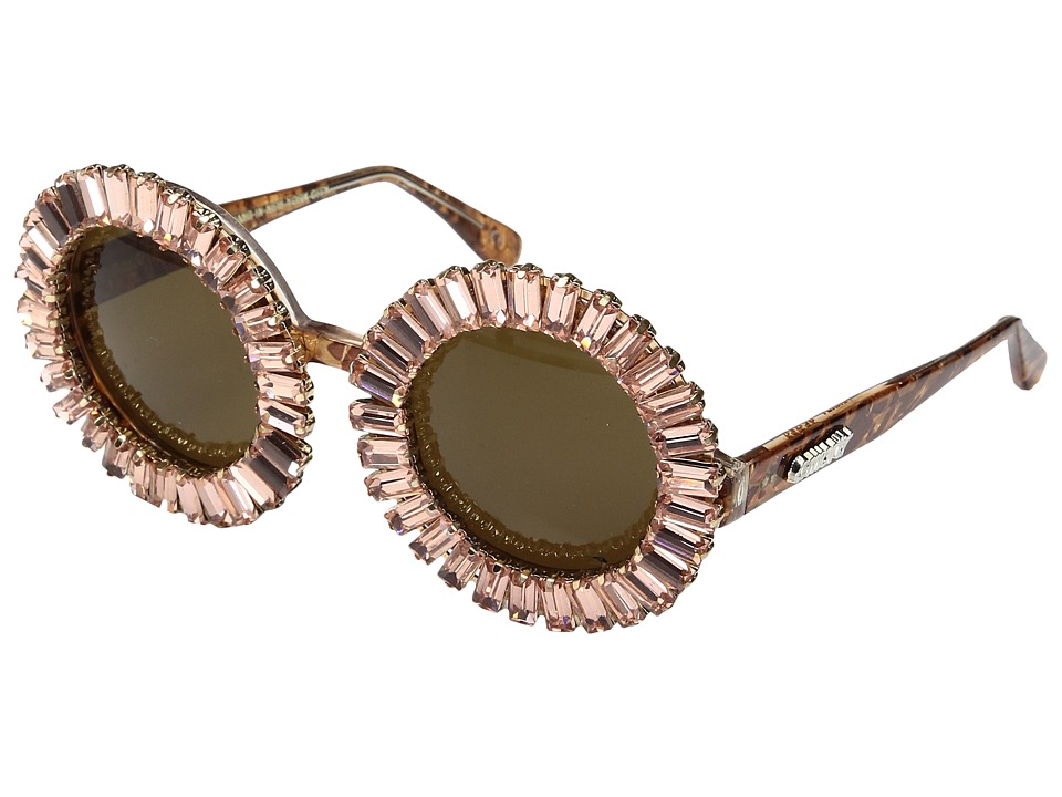 A-Morir - Nellee (Rose Gold) Plastic Frame Fashion Sunglasses