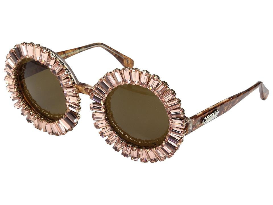Image of A-Morir - Nellee (Rose Gold) Plastic Frame Fashion Sunglasses