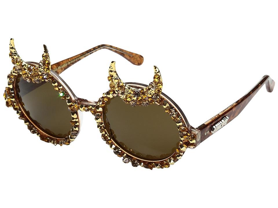 Image of A-Morir - Hagen (Gold) Plastic Frame Fashion Sunglasses