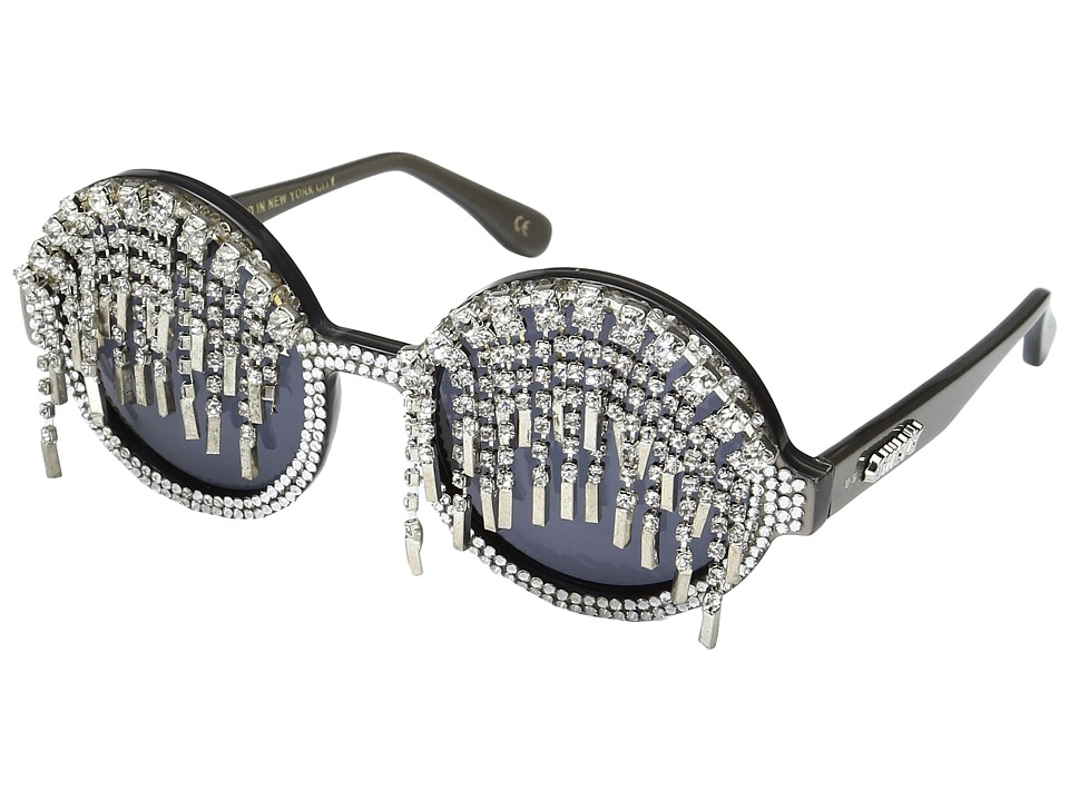 A-Morir - Marshall (Silver) Plastic Frame Fashion Sunglasses