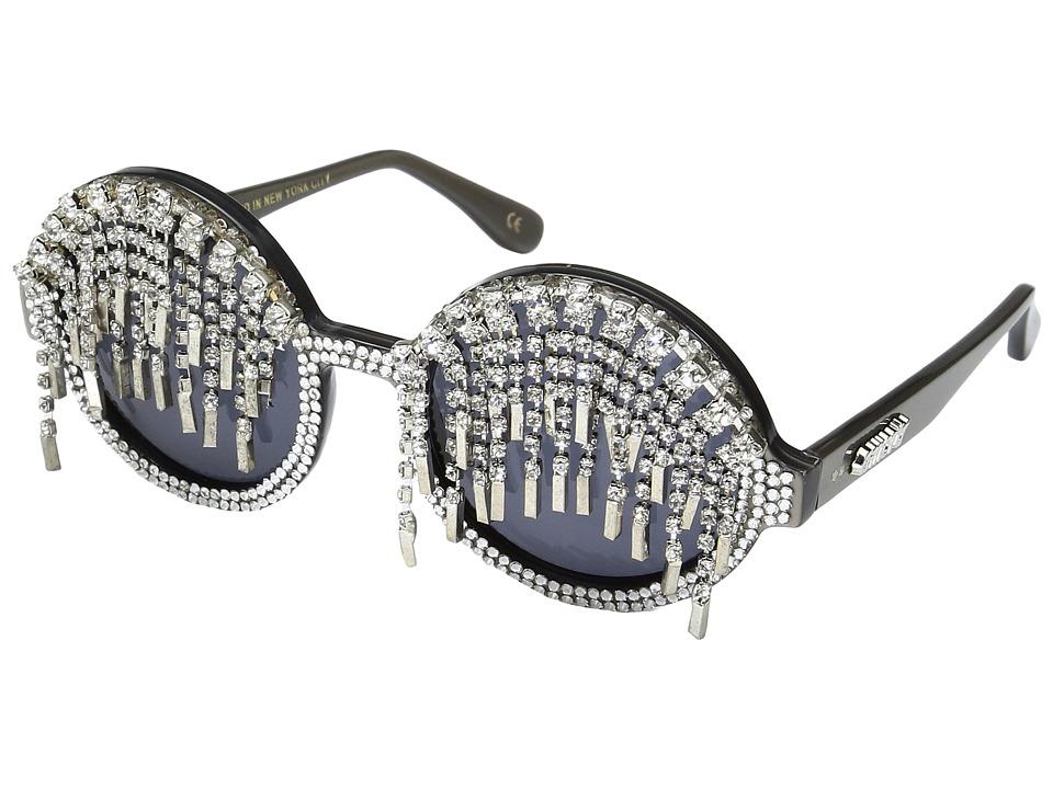 A-Morir - Marshall (Silver) Plastic Frame Fashion Sunglasses