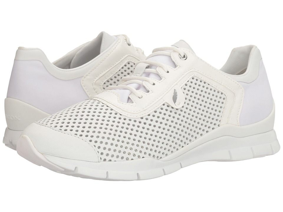 Geox - W SUKIE 19 (White/Off-White) Women's Shoes