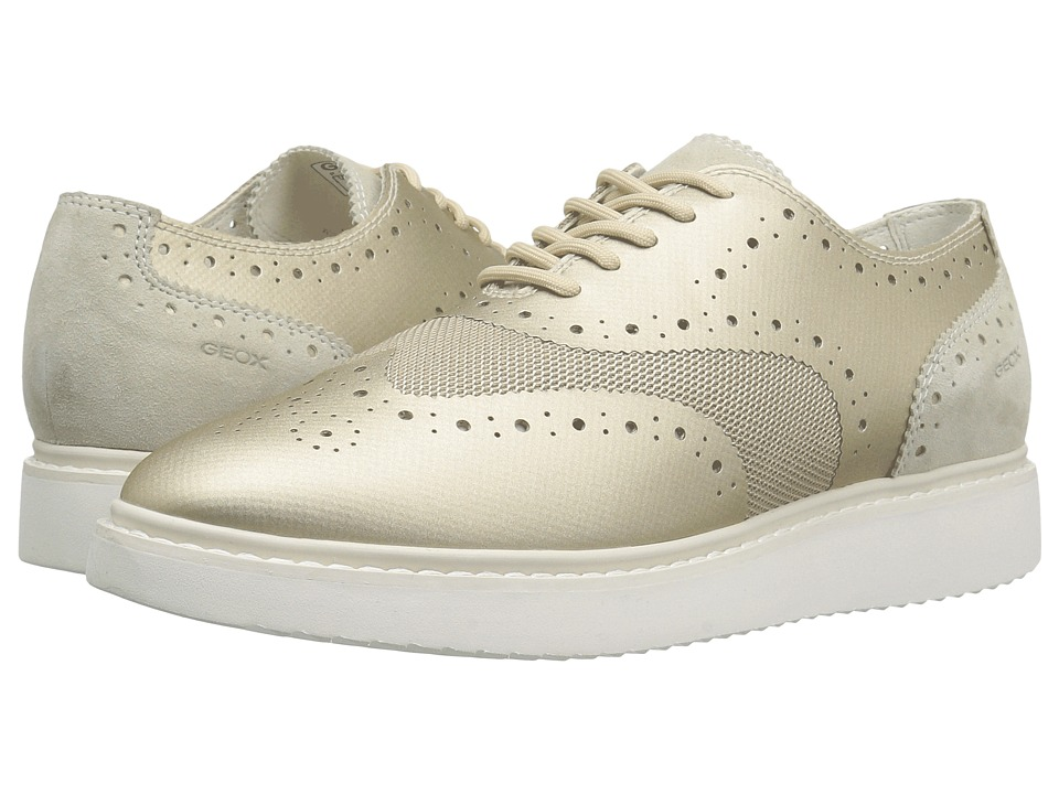 Geox - W THYMAR 4 (Light Gold/Light Taupe) Women's Shoes