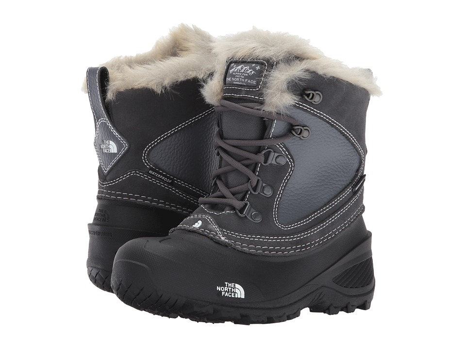 The North Face Kids Shellista Extreme (Toddler/Little Kid/Big Kid) (Zinc Grey/TNF White) Girls Shoes
