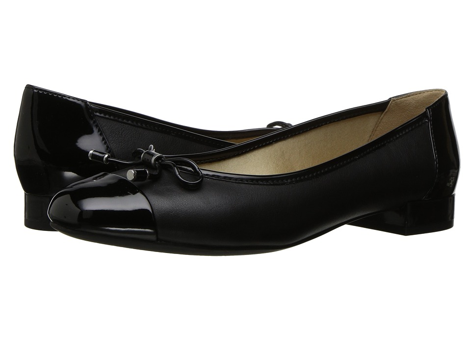 Geox - W WISTREY 1 (Black) Women's Flat Shoes