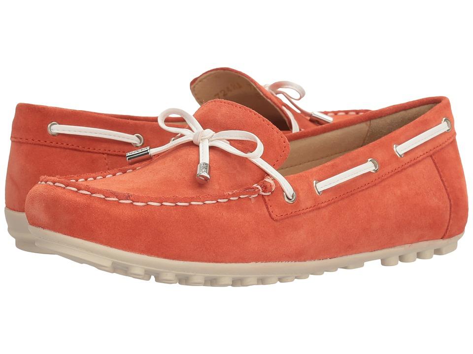 Geox - W LEELYAN 2 (Dark Orange) Women's Shoes