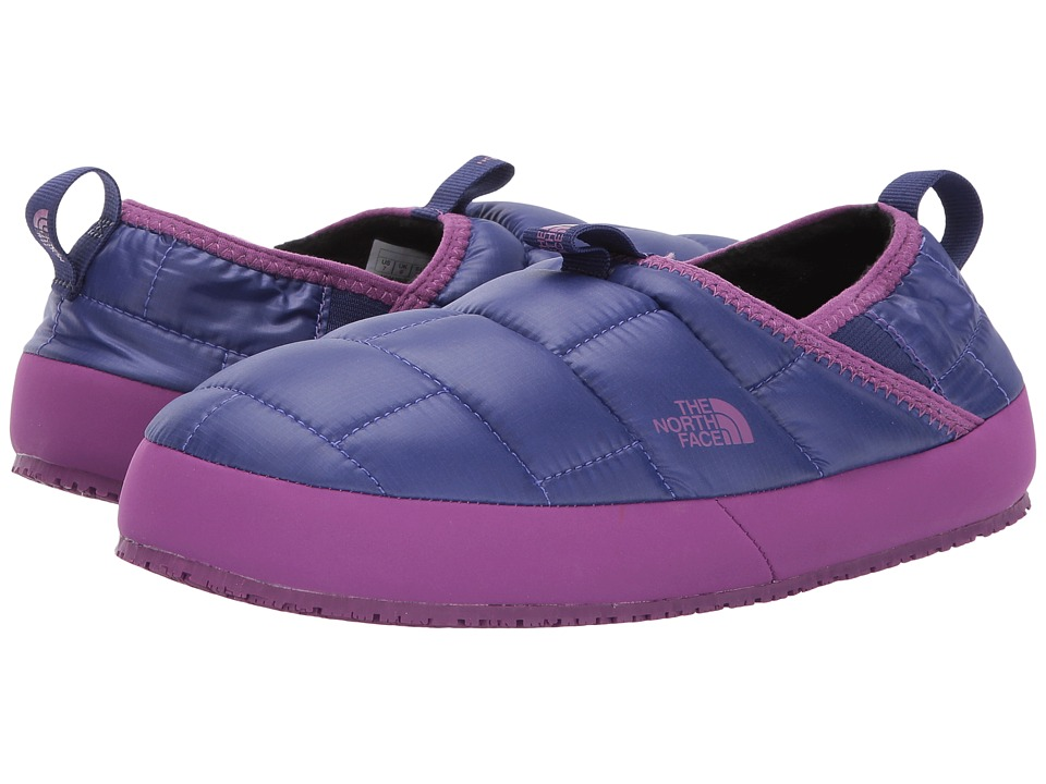 The North Face Kids Thermal Tent Mule II (Toddler/Little Kid/Big Kid) (Bright Blue/Wood Violet) Girls Shoes