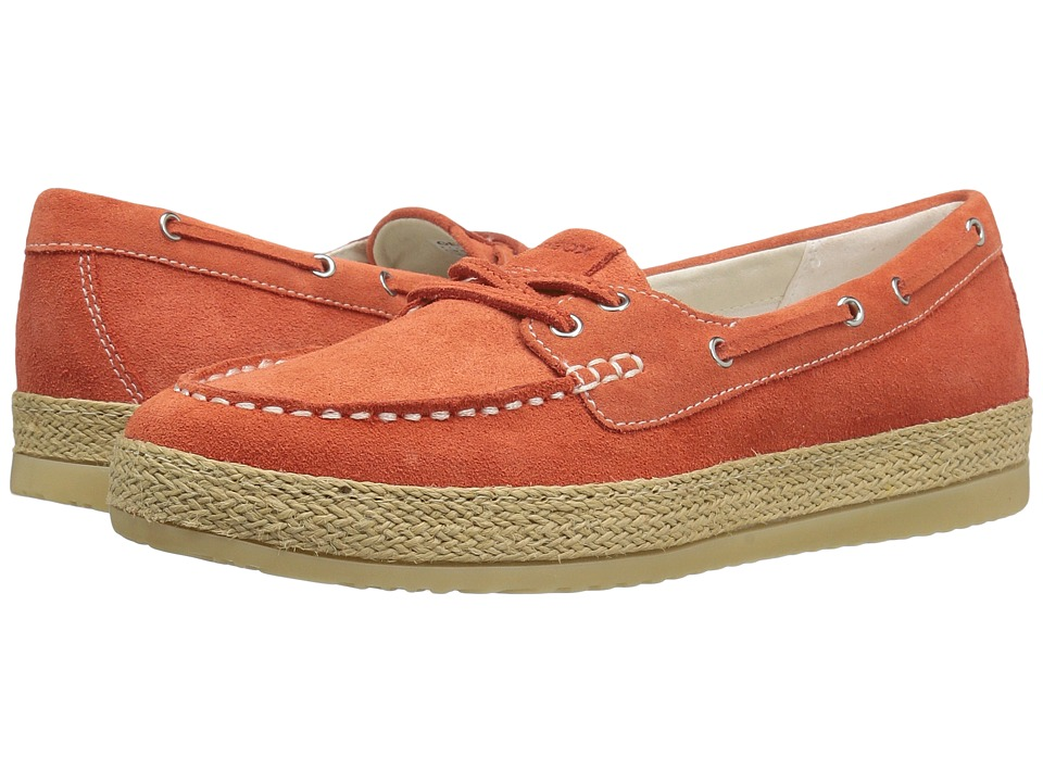 Geox - W MAEDRYS 5 (Dark Orange) Women's Slip on Shoes