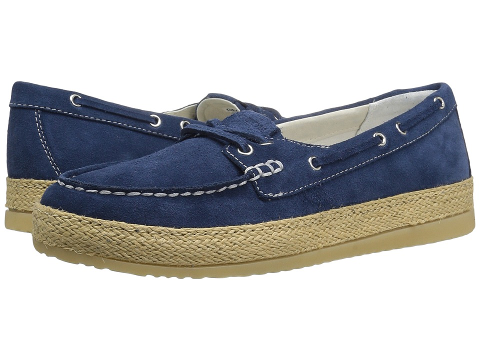 Geox - W MAEDRYS 5 (Denim) Women's Slip on Shoes