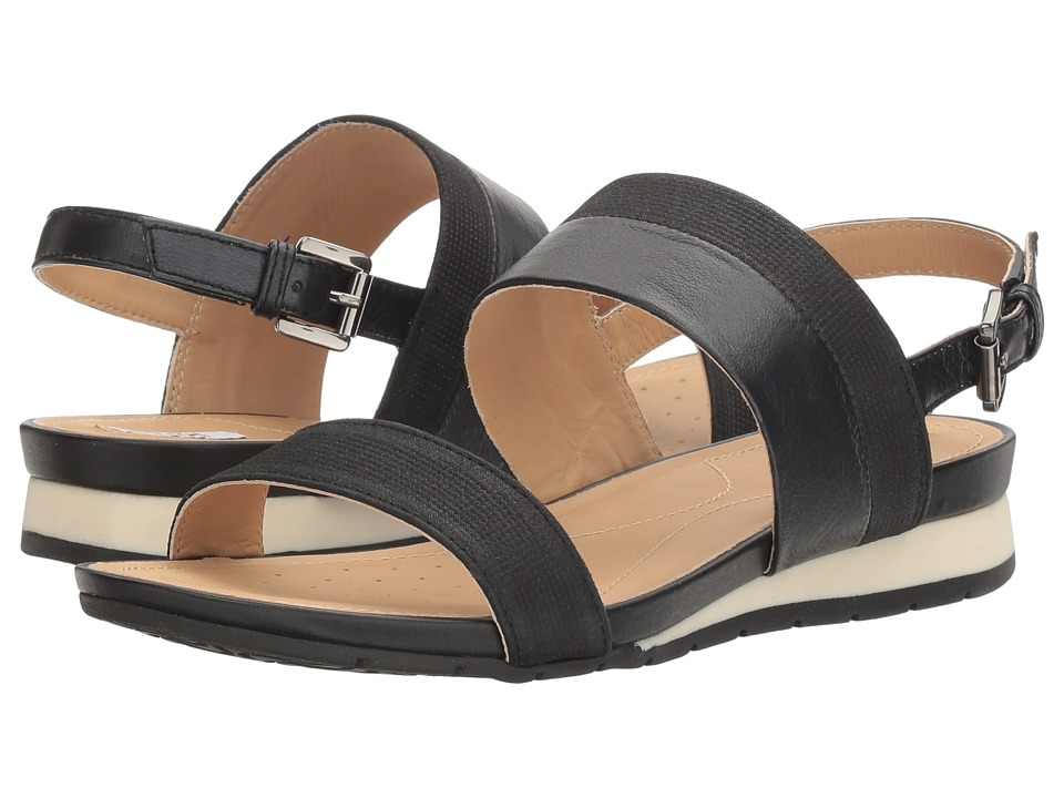 Geox - W FORMOSA 13 (Black) Women's Sandals