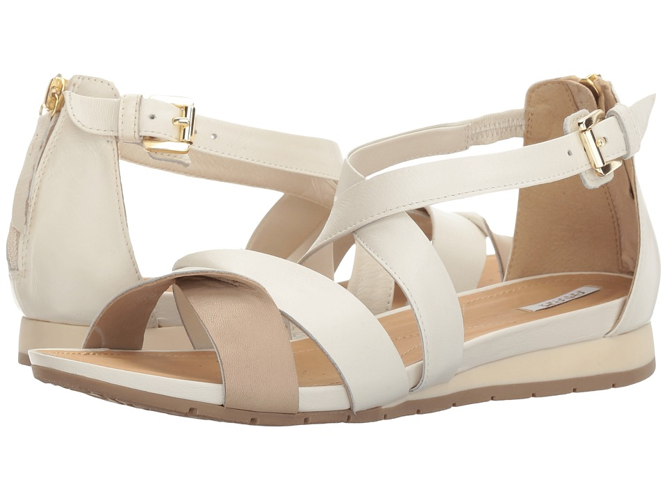 Geox - W FORMOSA 11 (Off-White/Light Taupe) Women's Sandals