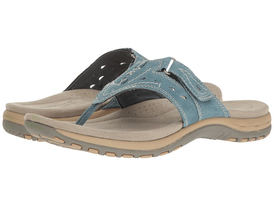 Earth - Sara (Moroccan Blue Pig Suede) Women's Sandals